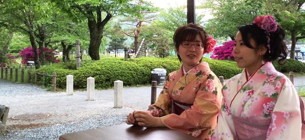 京都でレンタル着物・浴衣で特別な女子旅を